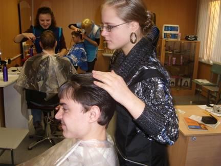 Профессия - Парикмахер в Орехово-Зуевском техникуме